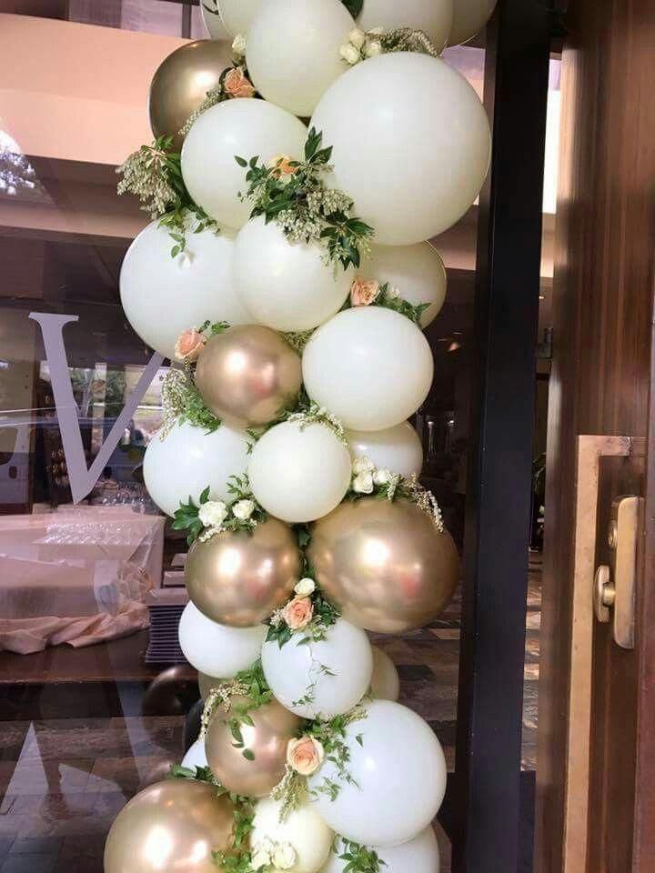 Awesome Wedding Decorations with Balloons