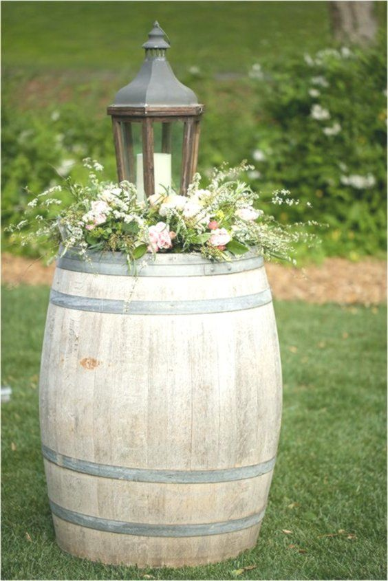 Fun and Creative Wine Barrel Wedding Decorations