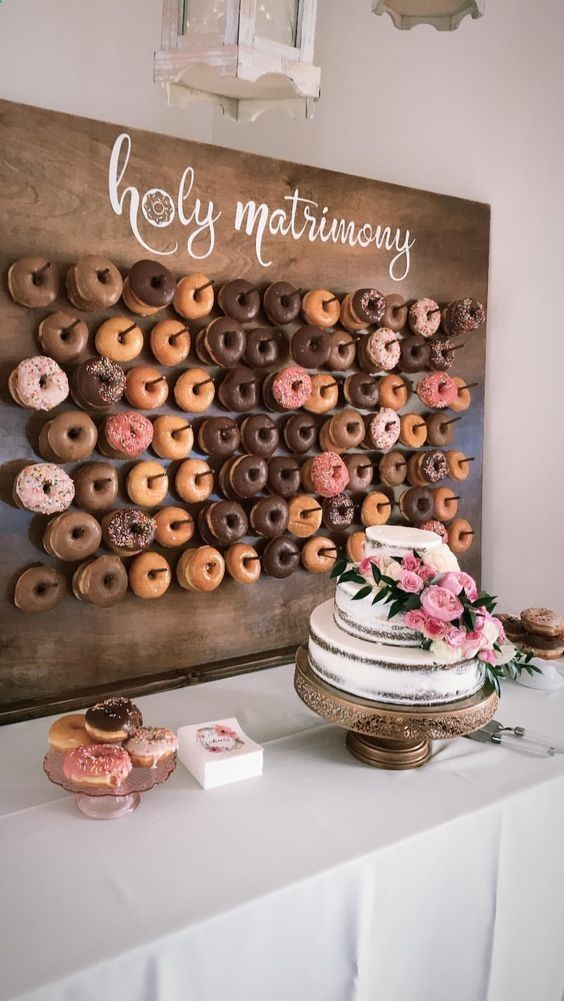 Mouth-watering Wedding Dessert Table Ideas