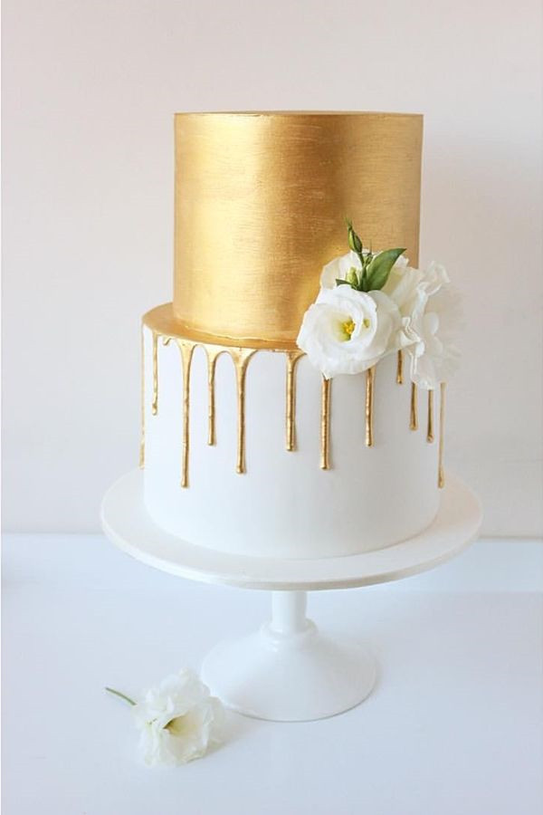Mouthwatering Drip Wedding Cakes You cant Resist
