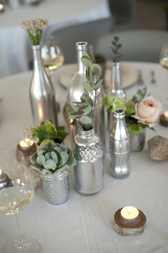 Practical Silver Wedding Decor Ideas That Wow