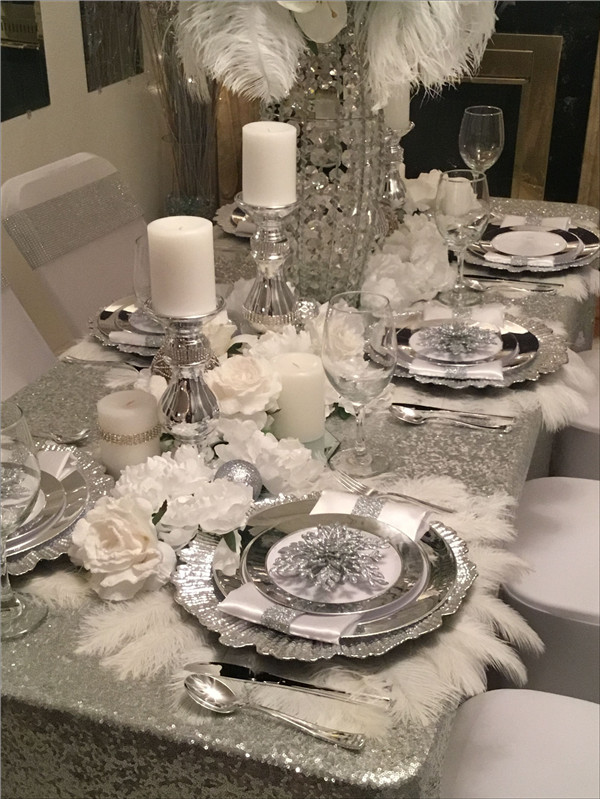 Silver Wedding Décor Ideas That Wow