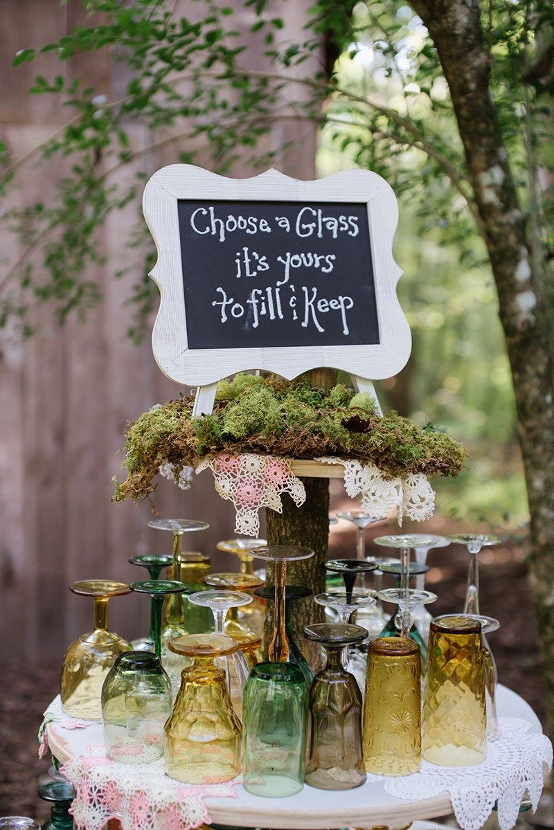 Romantic and Creative Woodland Wedding Ideas