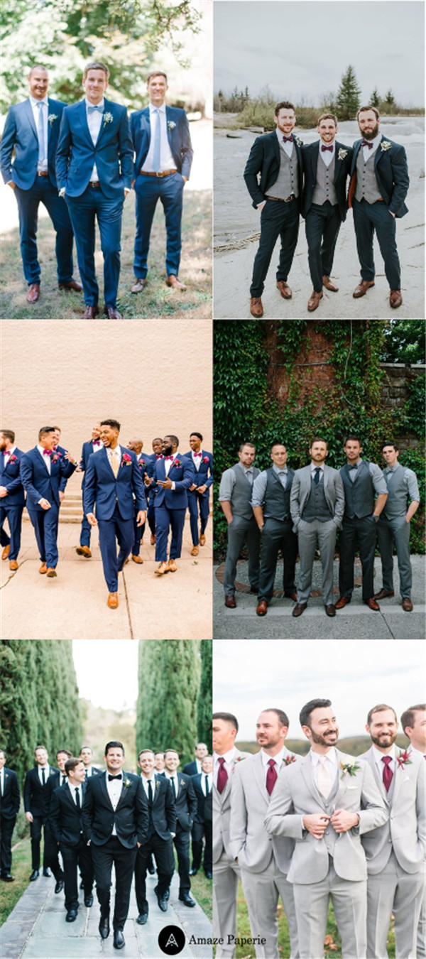 The Latest Groomsmen Suit Ideas to Love