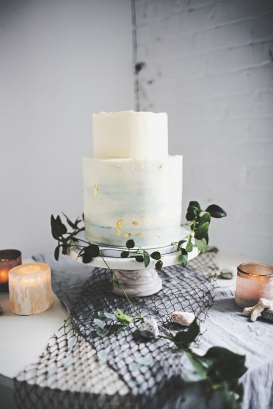 Watercolor Wedding Cakes Your Guests Will Wow